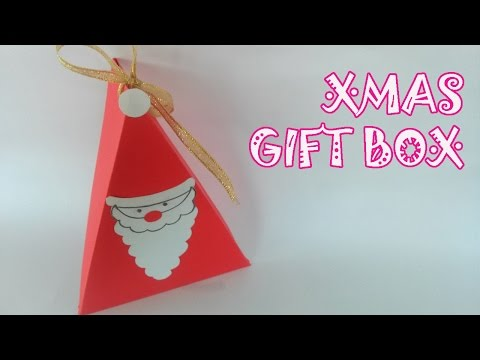Christmas Gift Box Tutorial - Origami Easy