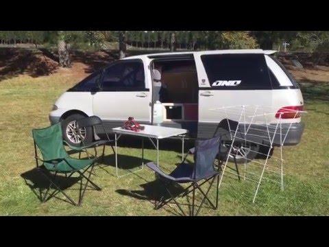 Toyota Estima : ideal van to travel around New Zealand