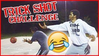 PAINFUL TEAM TRICK SHOT CHALLENGE! | #Mav3riqFam