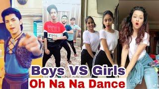Oh Na Na Dance   Boys VS Girls   Siddharth Nigam, Avneet Kaur, Mr.mnv   Aladdin