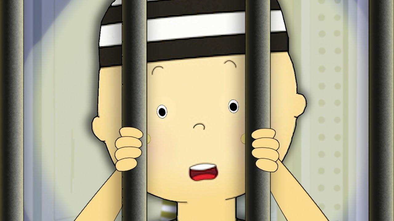Caillou's Gefängnisausbruch | Caillou auf Deutsch