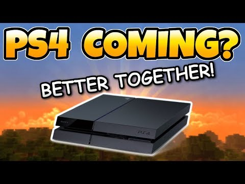 Minecraft PS4 GETTING BETTER TOGETHER UPDATE! Cross-play, Servers & More
