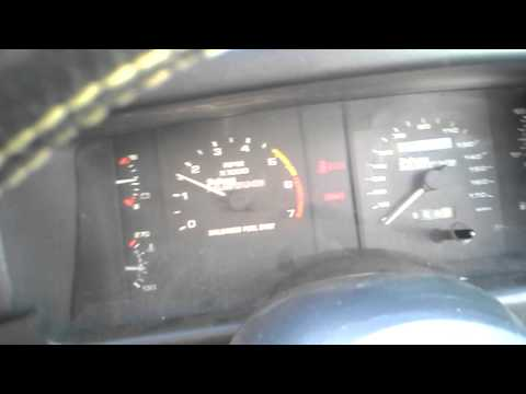 1988 mustang Saleen convertible, #492