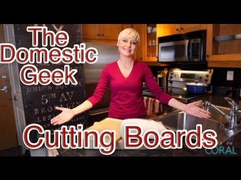 The Domestic Geek: Choosing & Cleaning Your Cutting Boards