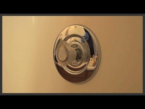 Shower escutcheon replacement
