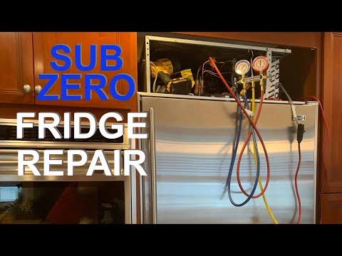 Sub zero fridge repair. Choose right technician.