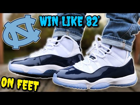 'WIN LIKE 82' AIR JORDAN 11 ON FEET! WATCH THIS BEFORE YOU BUY! ANOTHER DOPE RELEASE?