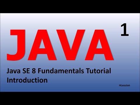 Java Tutorial Introduction Epi 1