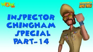 Inspector Chingam Special - Part 14 - Motu Patlu Compilation As seen on Nickelodeon