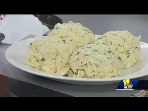 Jimmy's Seafood makes huge crab cakes