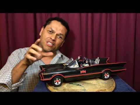 Batmobile 1966 TV Show Car by MATTEL Review!