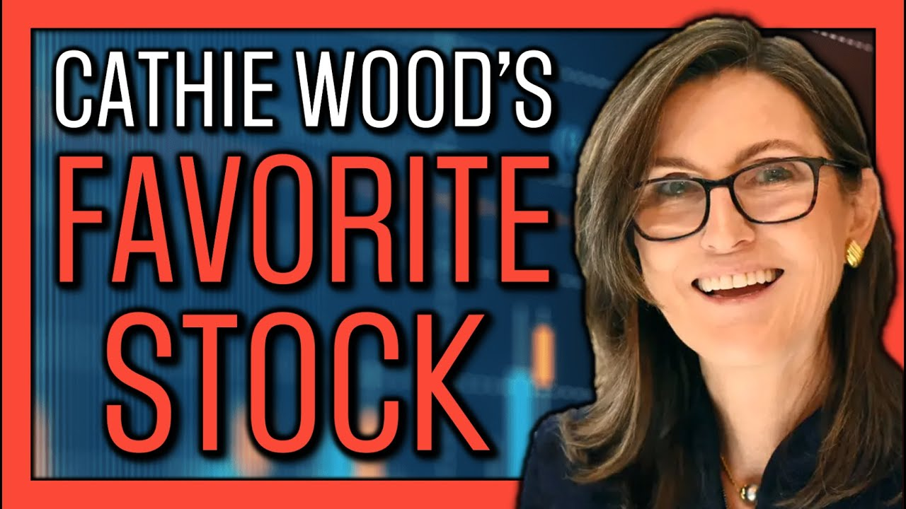 🤩 Cathie Wood's Favorite Stock | ARK Invest Buys This Over Tesla Stock