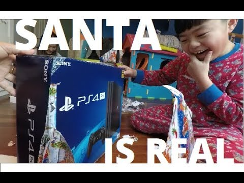 Santa is REAL! Merry Christmas 2017 -PS4 PRO