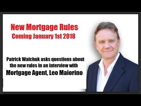 New Mortgage Rules for Jan 2018 Explained - Example Mortgage for $300,000 compared