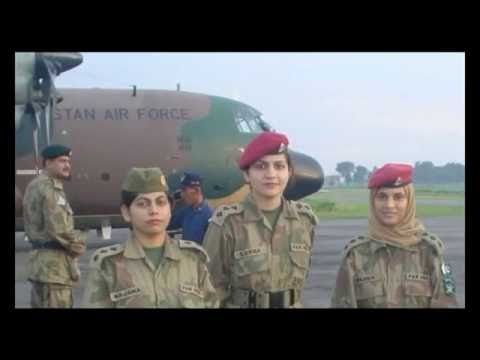 females in Pakistan armed forces by Irfan's Training Zone