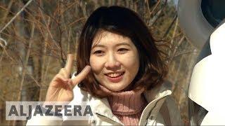 🇰🇷 Pyeongchang 2018 volunteers braving sub-zero weather