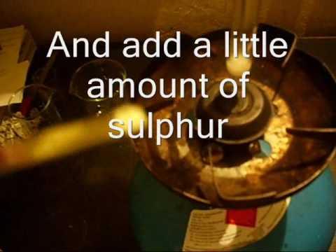 Sulfur with KClO3