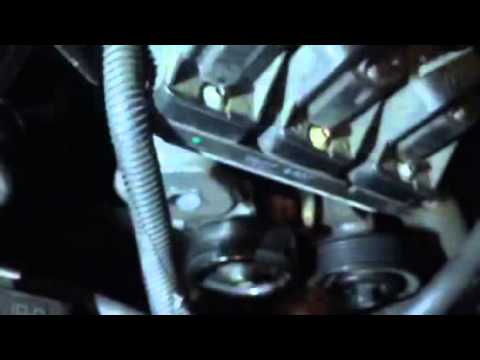 How to diagnose and replace a faulty engine idler pulley