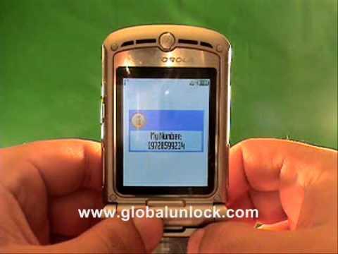 Easy T Mobile UK Motorola V635 Unlock Method