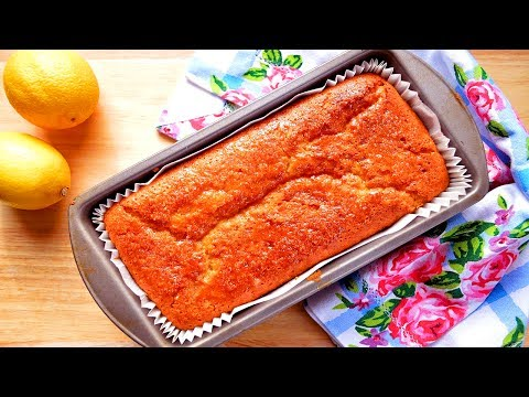 Lemon Drizzle Cake Recipe - How To Make Lemon Drizzle Cake Easy At Home