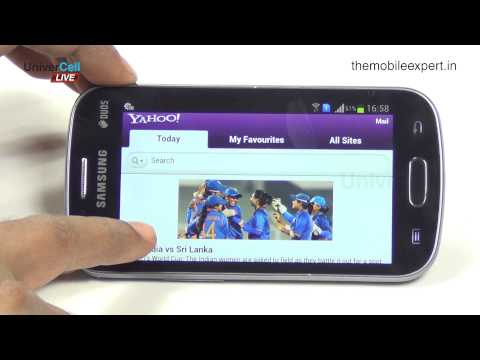 Samsung Galaxy S duos - UniverCell The Mobileexpert Reviews