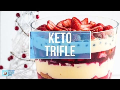 Keto Trifle - Keto Christmas Dessert
