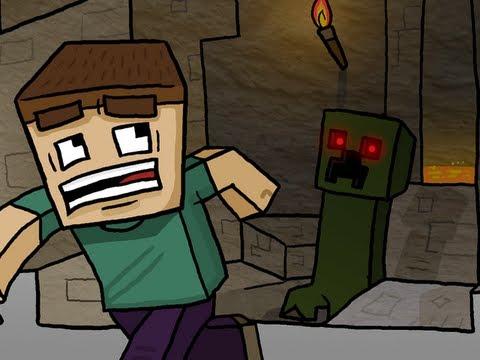 Revenge Inspired Minecraft Speed Art By Chewtoons