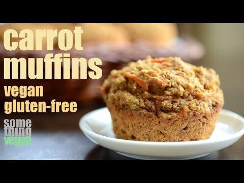 carrot muffins (vegan & gluten-free) Something Vegan