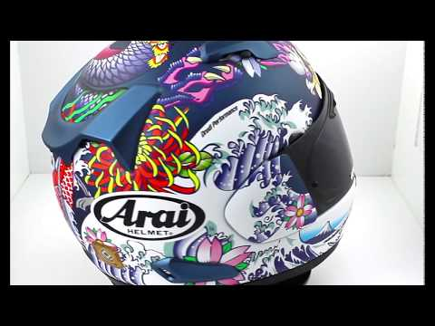 Arai QV Oriental Motorcycle Helmet