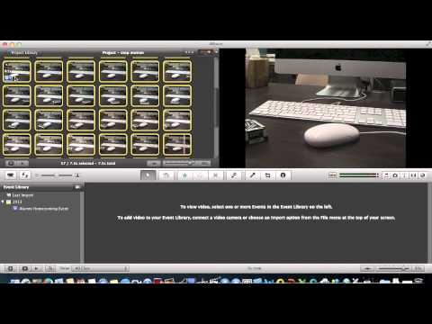 iMovie Tutorial:   Stop Motion