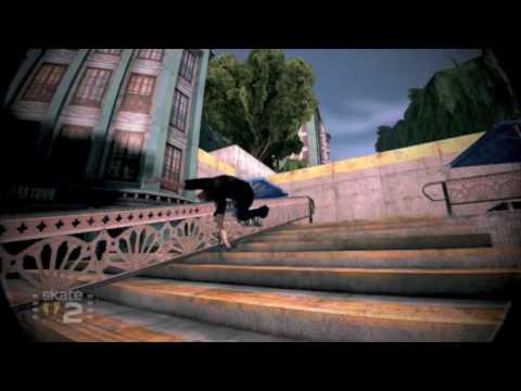 Skate 2 Realistic Bail Montage Part 2