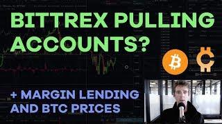 Bittrex Shutting Down Accounts? Margin Lending, Bitcoin Price, Altcoin Behaviors - CMTV Ep65