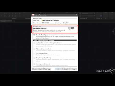 how to speed up the  autocad for better performance