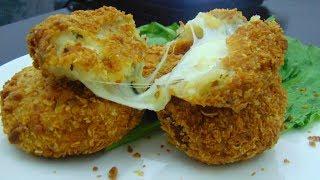 Zinger Cheese and Potato Cutlets Recipe - Aloo and Paneer Ka Zinger Cutlet
