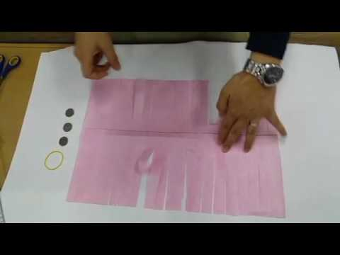 How to make JEGI(Korean traditional game) with paper