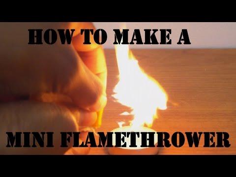 How to Make a Mini Flamethrower