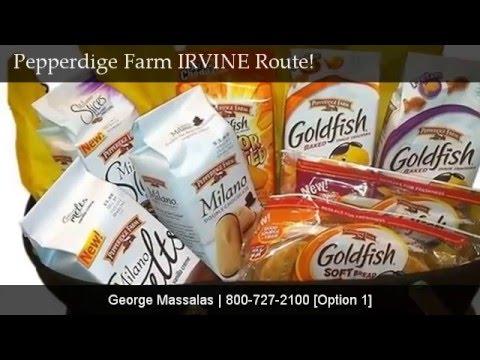 Pepperidge Farm IRVINE Route Available!
