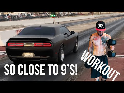 HOW FAST IS MY HELLCAT? PUSH WORKOUT!
