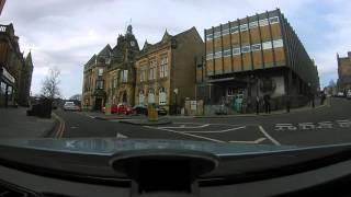 Driving around stirling scotland