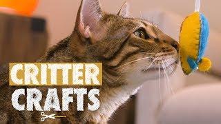 DIY Rocket Mice Cat Toys   Critter Crafts
