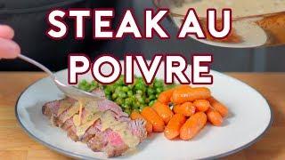 Binging with Babish: Steak au Poivre from Archer