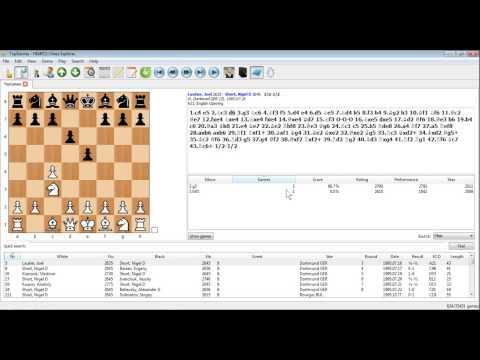 PC Chess Explorer - Exploring Openings