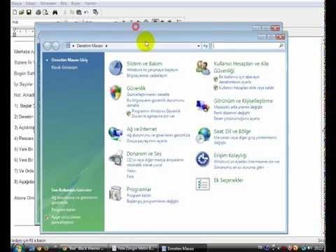 Windows Vista DNS Ayarlarını Değiştirme'yi Göstericem Arkadaşlar- İyi Seyirler :)
