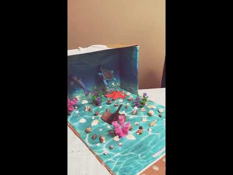 Vy Khanh's Underwater Habitat Diorama Project