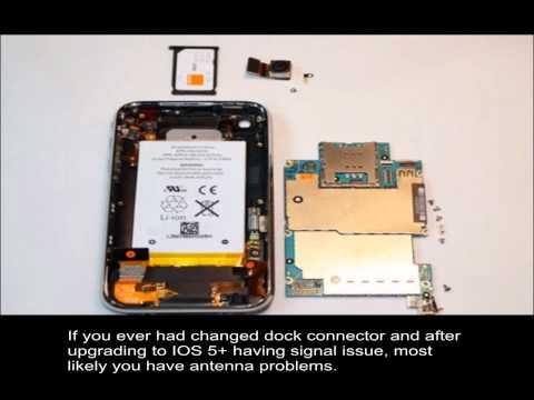 Iphone 3gs ios 5+ no signal fix