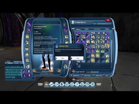 DCUO: How to make bank using old Time Capsule$!