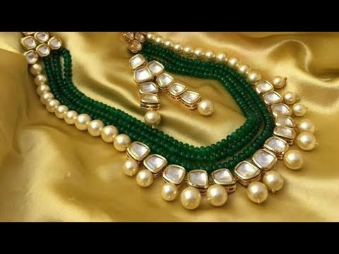 Kundan Multilayered Necklace With Price