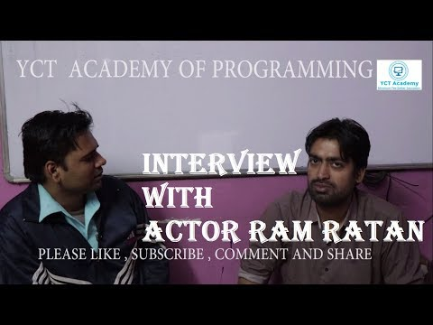 My First Live Interview with Actor Ram Ratan Mishra