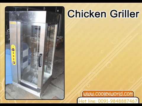 chicken griller machine India