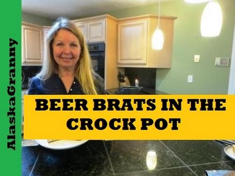 Beer Brats In The Crock Pot